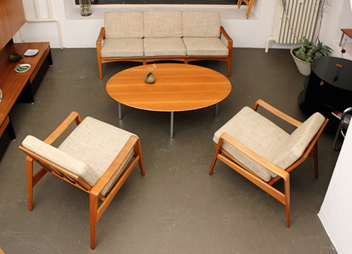 Dänische Sitzgruppe von Komfort