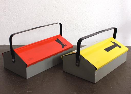 Werkzeug- und Schuhputzkiste von W. Kienzle