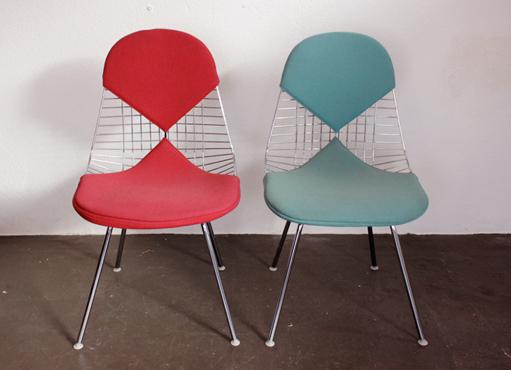 Esszimmerstuhl DKX von Ch. und R. Eames