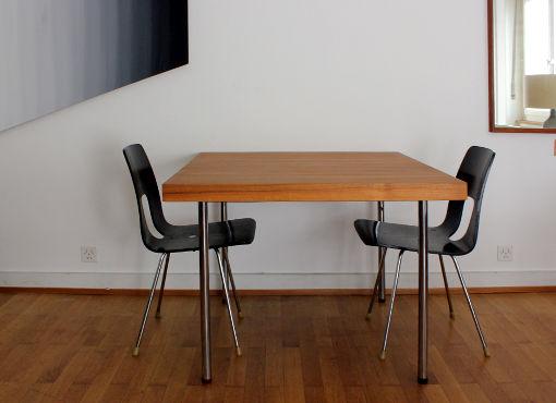 Quadratischer Tisch von Girsberger