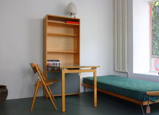 wohnhilfe klappschreibtisch von e guhl designbutik. Black Bedroom Furniture Sets. Home Design Ideas