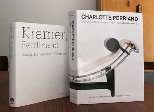 Neue Bücher eingetroffen: Perriand und Kramer