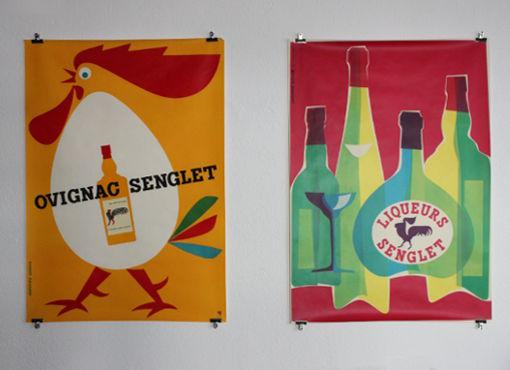 Plakate von Hanspeter Sommer