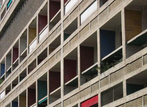 Designbutik am Mittelmeer 2: Cité Radieuse von Le Corbusier