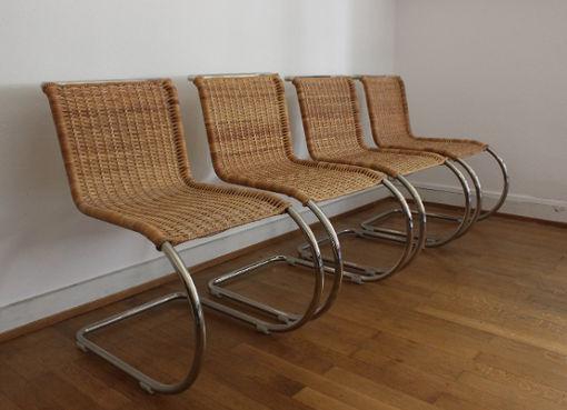 Weissenhofstühle von L. Mies van der Rohe