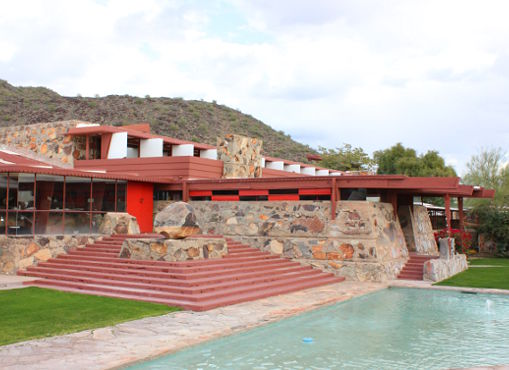 Designbutik in Taliesin West