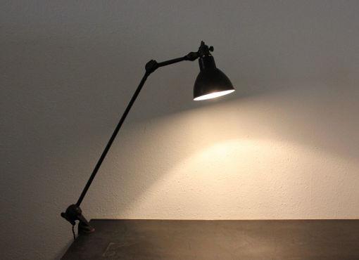 Tischlampe von Bernard Albin Gras