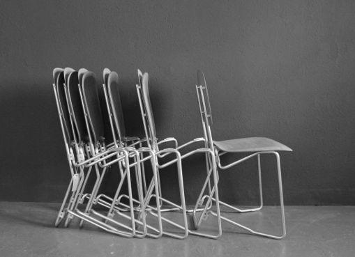 Aluflex-Stühle von A. Wirth