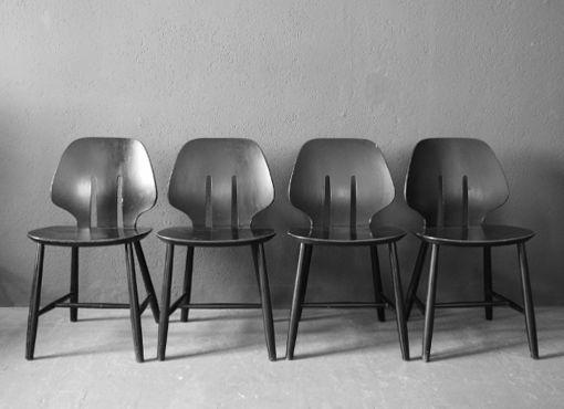 J67 Stühle von Ejvind A. Johannson