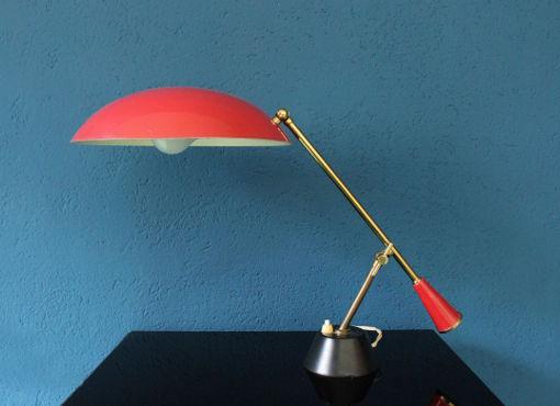 Tischlampe aus den fünfziger Jahren