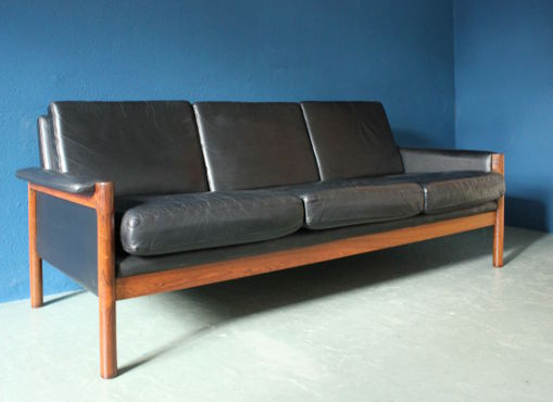 Sofa Sessel und Hocker von Kurt Østervig