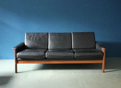 Sofa, Sessel und Hocker von K. Østervig