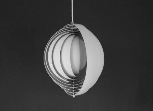 Moon Lampe von V. Panton