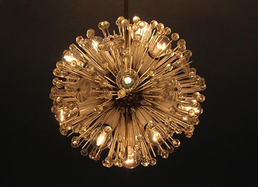 Deckenlampe von E. Stejnar
