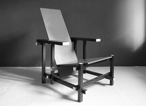 Rot-Blauer Stuhl von G. Rietveld