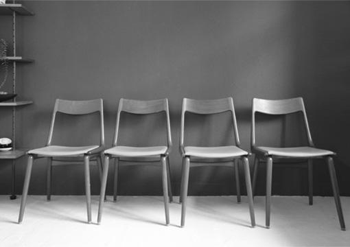 Boomerang Stühle von Slagelse
