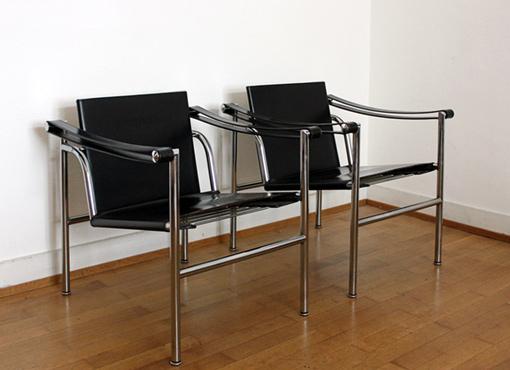 Chaise basculante LC1 von Charlotte Perriand