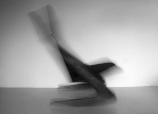 Boomerang-Schaukelstuhl von Mogens Kold