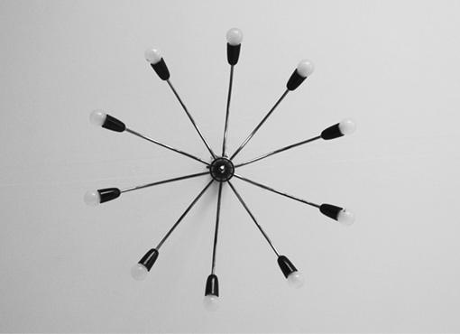 1950er Jahre Deckenlampe
