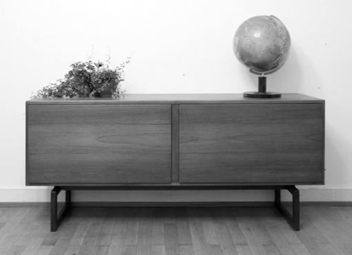 Kleines Sideboard von Arne Hovmand-Olsen