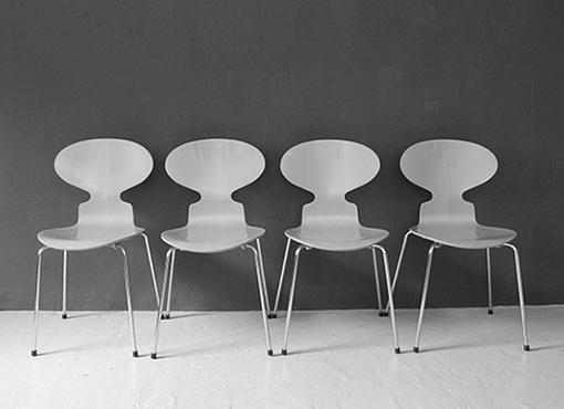 Ameisen-Stühle von Arne Jacobsen