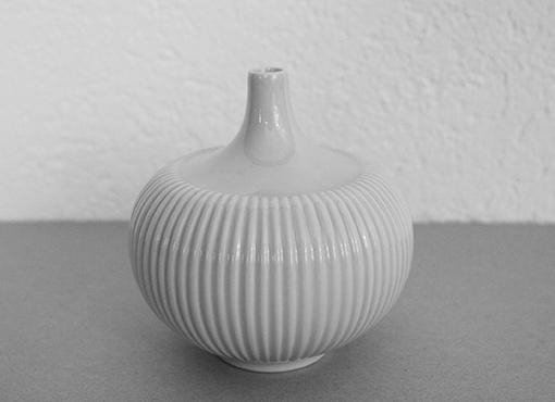 Kleine Porzellan-Vase von Langenthal
