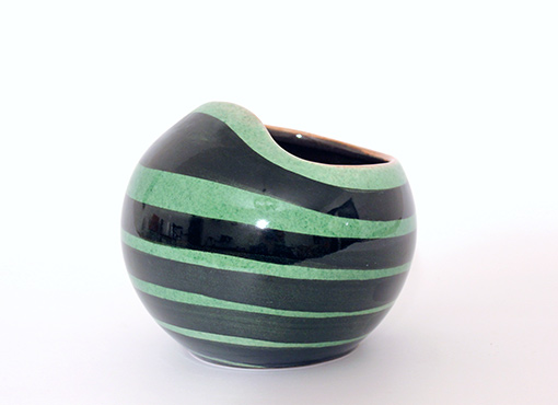 Kugelförmige Vase von Müller Luzern