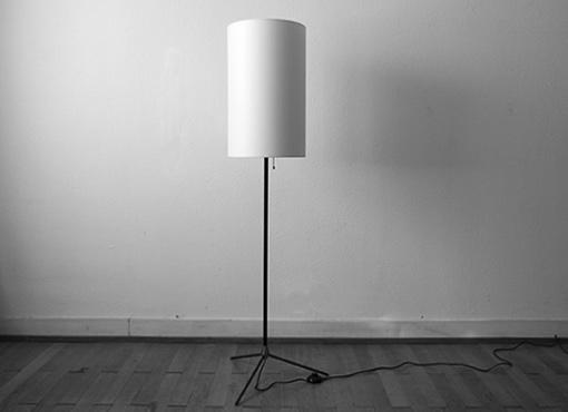 Stehlampe aus den fünfziger Jahren