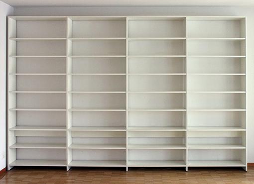 Grosses Büchergestell von U. P. Wieser für Wohnbedarf