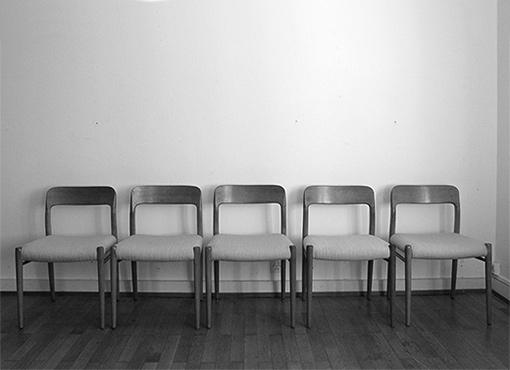 Esszimmerstühle von Niels Möller
