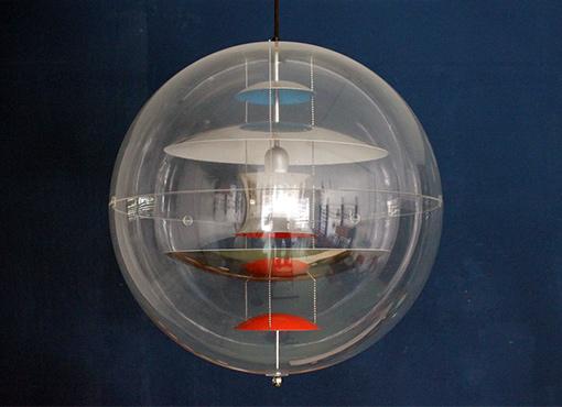 Verner Panton Globe Lampe