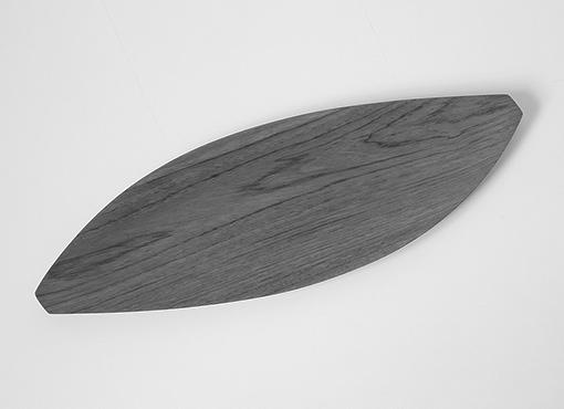 Blattförmiges Tablett von Shigemichi Aomine