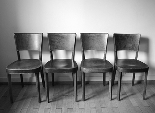 Vier Haefeli-Stühle