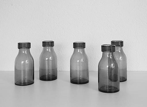 Mundgeblasene Bülacher-Flaschen