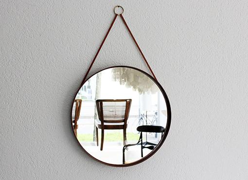 Runder Spiegel aus Schweden