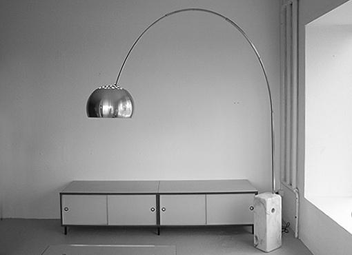 Arco-Bogenlampe von Achille Castiglioni