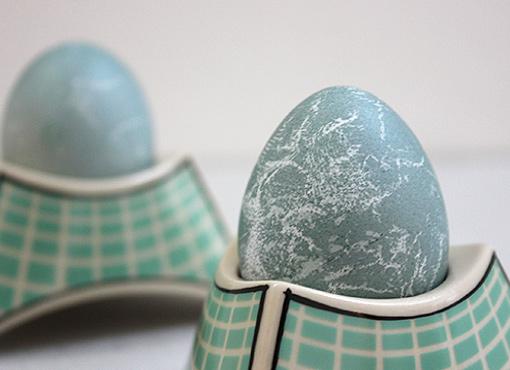 Postmoderne Eierbecher