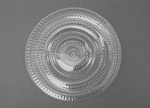 Glasplatte von Oiva Toikka