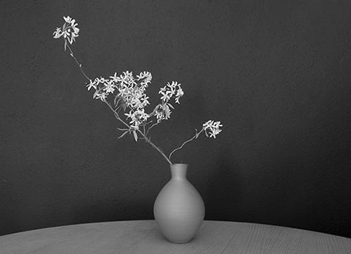 Terracotta Vase aus 1950er Jahren