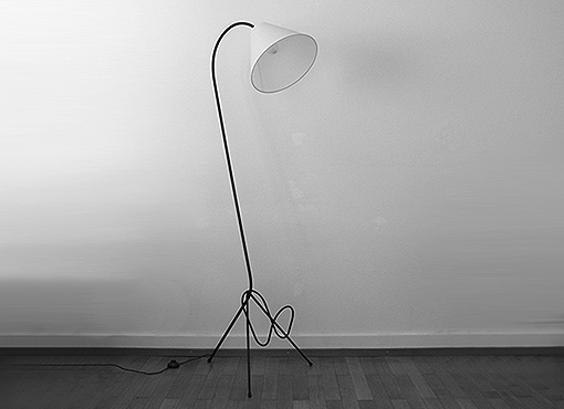 Französische Stehlampe