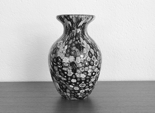 Millefiore Vase von Badioli