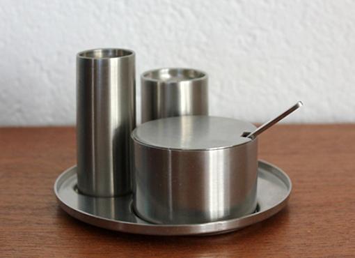 Salz, Pfeffer und Senf-Set von A. Jacobsen