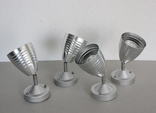 Aluminium-Strahler
