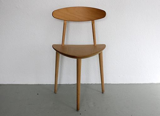 Dreibeiniger Stuhl von Poul Volther
