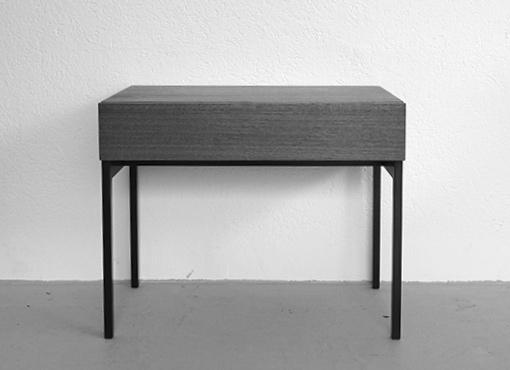 Nachttisch von Dieter Waeckerlin