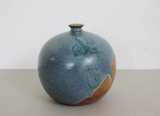 Kugelvase aus Keramik