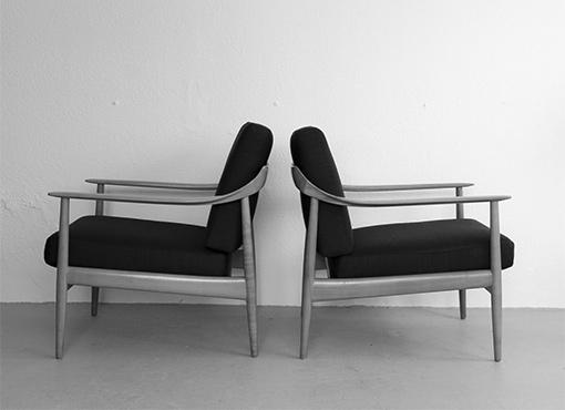 Sesselpaar von Wilhelm Knoll