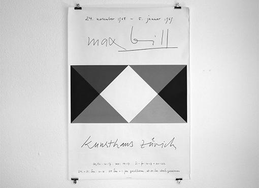 Max Bill Plakat