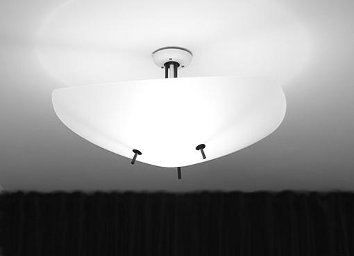 Deckenlampe aus den 1950er Jahren